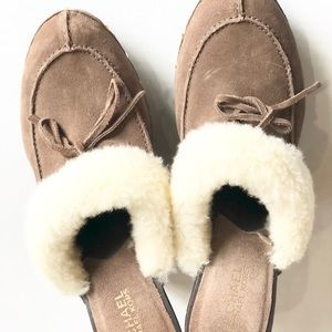 Michael Kors Fur Clogs